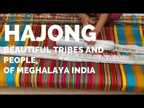 BEAUTIFUL HAJONG TRIBAL PEOPLE MEGHALAYA INDIA