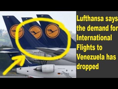 Lufthansa to suspend flights to Venezuela | News World
