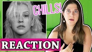 Fall In Line - Christina Aguilera ft Demi Lovato | REACTION