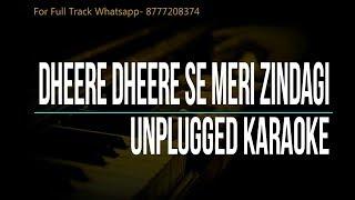 Dheere Dheere Se Meri Zindagi Mein Aana | Kumar Sanu | Reprised Karaoke
