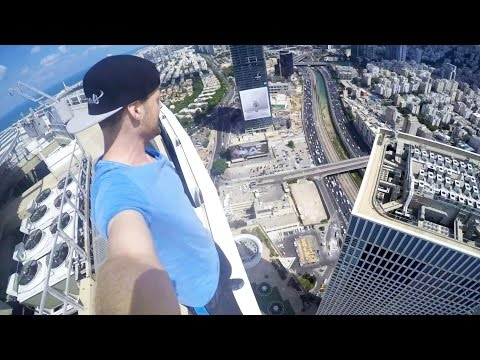 ROOFTOP PARKOUR in 187m | Tel Aviv - ISRAEL Tag 4