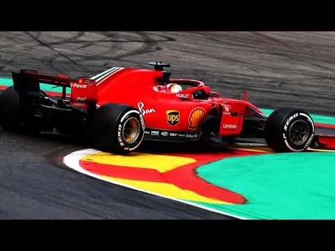 Sebastian Vettel team radio celebration after victory - F1 2018 Belgium