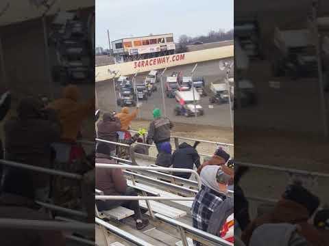 Sprint Invaders Parade Lap 34 Raceway 3-31-18