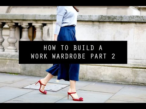 How to Build a Work Wardrobe from Scratch Part 2 | Mademoiselle