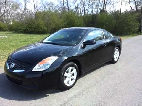 FOR SALE 2008 NISSAN ALTIMA COUPE ONE OWNER 2.5 LEATHER CALL 888 653 8056