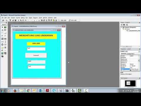 Cara Membuat Lingkaran Di Visual Basic
