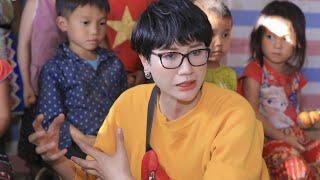 Trang Trần sợ hãi đường đi Sìn Hồ - Lai Châu khảo sát xây trường