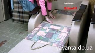 Кресло раскладное  (кресло-кровать в Днепропетровске)(Кресло раскладное Днепропетровск мебельная фабрика Яванта., 2013-08-30T11:35:12.000Z)