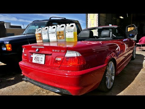 Project BMW E46 330CI ZHP FULL INTERIOR DETAILING
