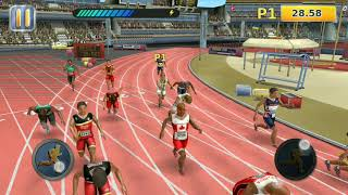 Athletics games 2018.Sports mobile game.