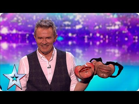 Simon left speechless by ventriloquist act | Semi-Finals | BGT 2019
