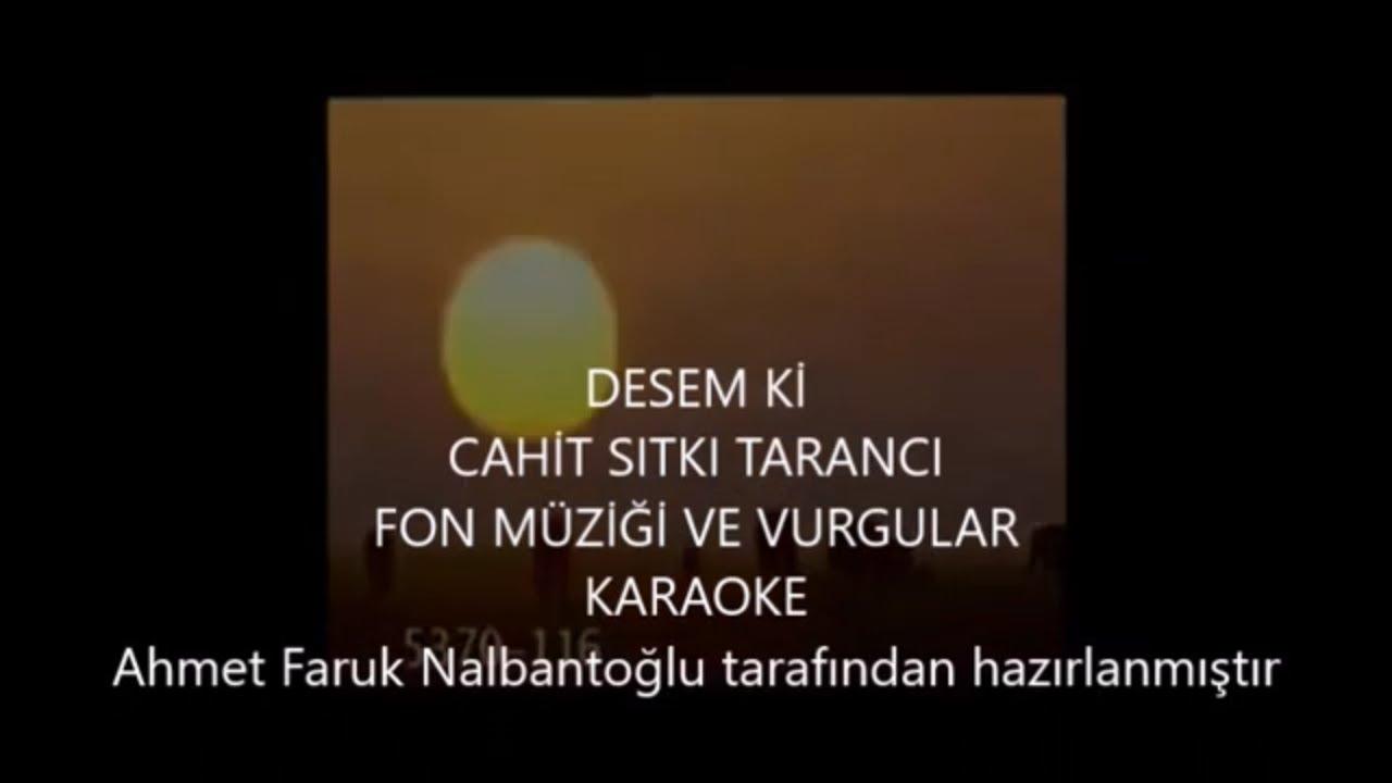 Desem Ki şiiri için fon müziği ve doğa görüntüleri  - Cahit Sıtkı TARANCI (Muhteşem Video) reupload