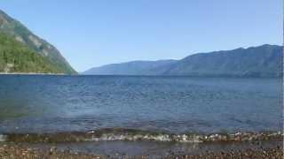 Прибой на Телецком озере. Джип-туры на Алтай.(, 2013-01-18T09:42:27.000Z)