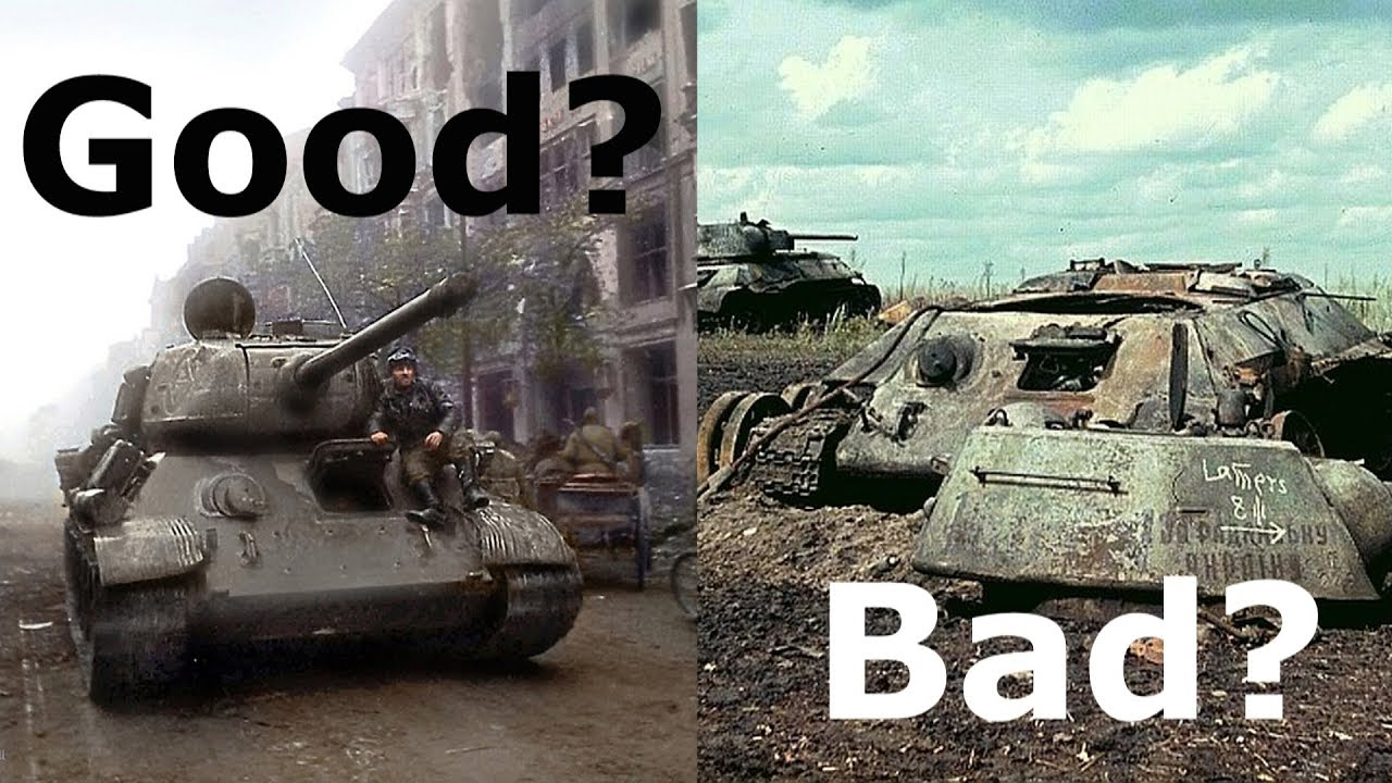 The T-34, Success or Failure? - YouTube