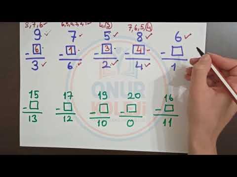 2. Sınıf - Verilmeyen Eksileni ve Çıkanı Bulma