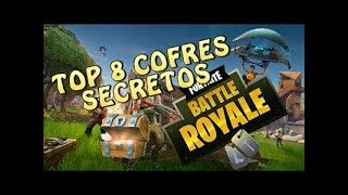 Fortnite's 8 Secret Chests