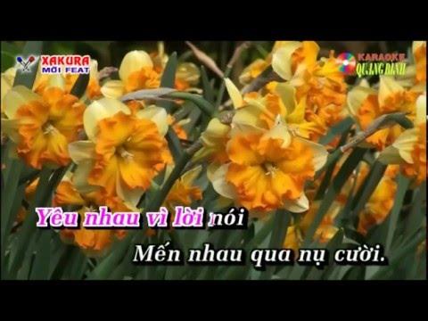 Karaoke [TAN CO] Căn nhà màu tím - song ca Xakura