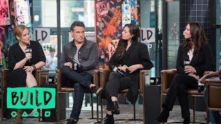 "Alexa Davalos, Rufus Sewell, Chelah Horsdal & Isa Hackett Discuss Season 3 Of ""The Man In The High C"
