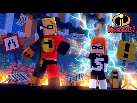 Minecraft HOW TO BECOME PART OF THE INCREDIBLES 2!!!!