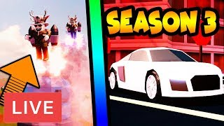 Jailbreak UPDATE LIVE - France SAISON 3 AUDI R8, JETPACKS ET PLUS! Roblox