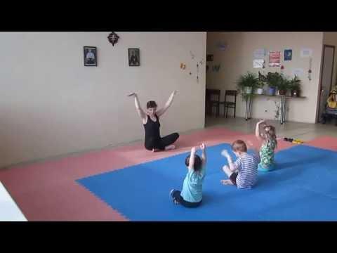 2016.06.23 Йога для детей 3-6 лет