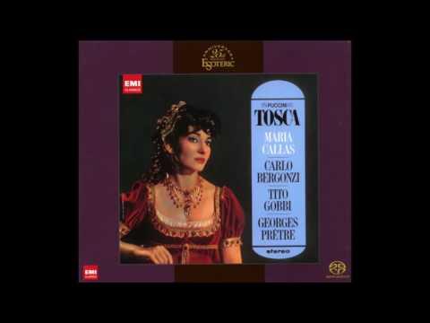 Giacomo Puccini: Tosca - Maria Callas, Georges Prêtre (1965, Remastering 2014, Audio video)