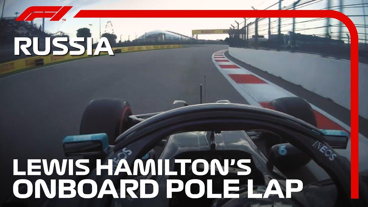 Lewis Hamilton's Pole Lap | 2020 Russian Grand Prix | Pirelli