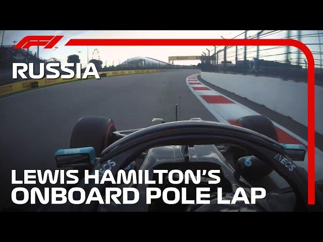 Lewis Hamilton's Pole Lap   2020 Russian Grand Prix   Pirelli