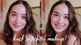 5 Minute Back to School Makeup Look! | simple & easy