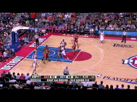 NBA Playoffs 2009 - First Round - Game 4 - Cleveland Cavaliers @ Detroit Pistons