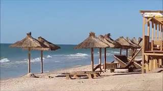 Летний отдых в Кирилловке на Азовском море. Водный мир.