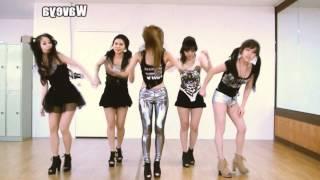 t ara n4 티아라 엔포 jeon won diary 전원일기 waveya 웨이브야 cover dance mirror