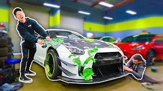 Un-Wrapping My World Famous 1000HP GTR! (NEW GUACZILLA REVEAL)