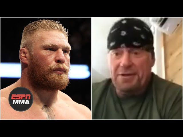 The Undertaker clears the air on infamous Brock Lesnar exchange at UFC 121 | ESPN MMA