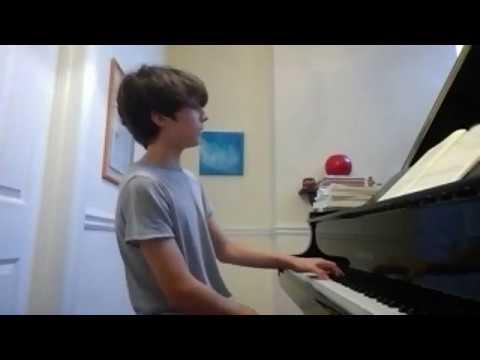 Gabriele Baldocci teaching Giorgio Agnes   Online Piano Lesson