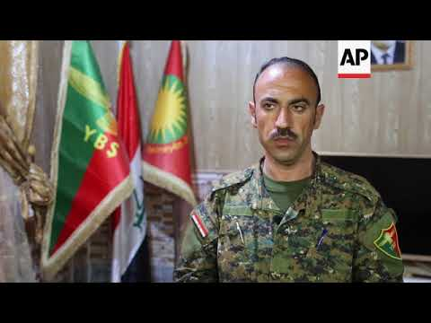 Kurdish group vows to stay in Sinjar despite threat of Turkish attack