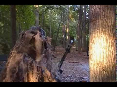 Bow Hunting Archery Practice Ghillie Suit Style Youtube