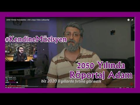 KENDİNE MÜZİSYEN  2050 Yılında Youtuberlar   200 Liraya Video Çekiyorlar  İZLİYOR RÖPORTAJ ADAM