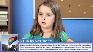 Repeat youtube video 동성결혼에 대한 아이들의 반응 Kids React to Gay Marriage (kor subtitle)