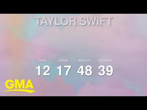 Taylor Swift surprised fans on her website with a mysterious countdown l GMA Mp3