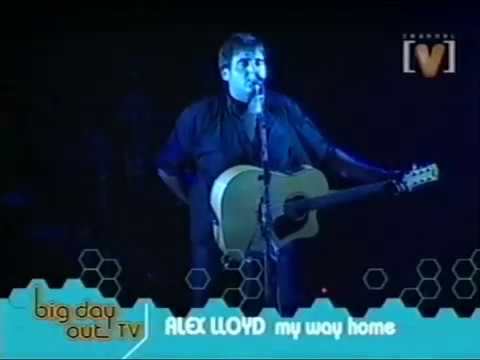 Alex Lloyd - My Way Home/Lucky Star | Big Day Out 2001