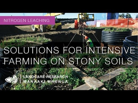 Solutions for intensive farming on stony soils