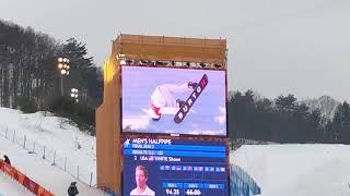 現地映像★ショーンホワイト選手スノーボード男子決勝★金メダル獲得の三本目のRUN平昌オリンピック ショーン・ホワイト 検索動画 21