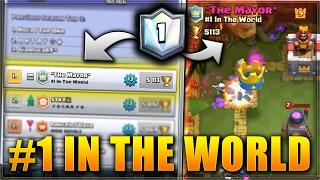 קלאש רויאל - אני נגד מקום ראשון בעולם בקלאש רויאל ?! | הדק הכי חזק במשחק בכל העולם ! |
