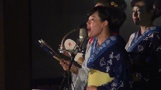 郡上節(かわさき) 日本民謡同好会 第55回 南御堂盆おどり 2日目 17.08.28
