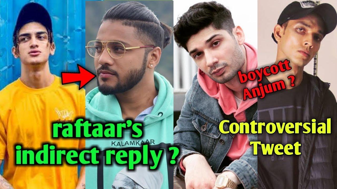Raftaar's Indirect reply to Loka ? Talha Anjum Controversial Tweet, EXPLAINED