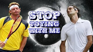 10 GLORIOUS Minutes of Federer and Nalbandian Playing Cat & Mouse! (Pt.1)