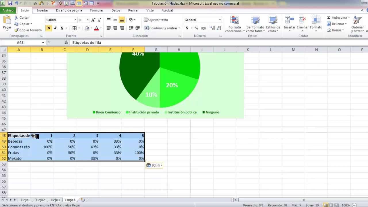 Cómo tabular una encuesta en Excel y no morir en el intento - YouTube
