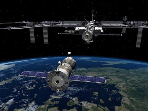 Прямая трансляция стыковки ТПК «Союз МС» с МКС