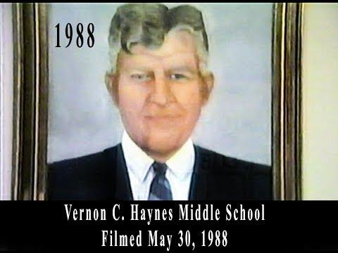 Vernon C. Haynes Middle School - May 30, 1988